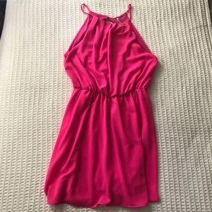 Lulu's Hot Pink Dress size large